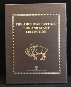 THE AMERICAN BUFFALO & STAMP COLLECTION  LL