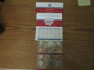 1987 MINT SET HAS 10 COINS P & D PLUS COA IN ORIGINAL PACKAGING