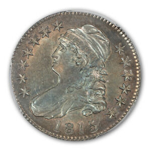 Click now to see the BUY IT NOW Price! 1815/2 50C CAPPED BUST HALF DOLLAR PCGS AU58