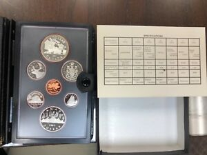 1981 DOUBLE DOLLAR CANADA PROOF SET   7 COIN