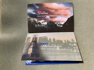 2007 PD US MINT UNCIRCULATED COIN SET