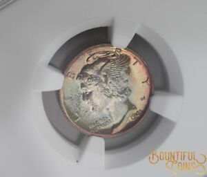1941 NGC PF 68 MERCURY DIME RAINBOW TONED 10C TEN CENTS PROOF PR  T3