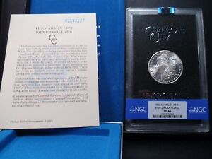 Click now to see the BUY IT NOW Price! 1882 CC MS66 HITLIST 40 VAM 2A GSA HOARD MORGAN SILVER DOLLAR NGC CERTIFIED