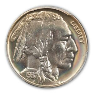 Click now to see the BUY IT NOW Price! 1937 5C BUFFALO NICKEL PCGS PR68