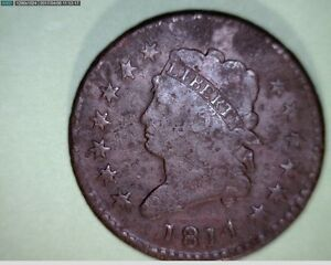 1814 LARGE CENT PENNY 6844