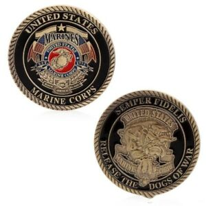 UNITED STATES MARINE CORPS COMMEMORATIVE CHALLENGE COIN COLLECTIBLE CRAFT GIFT