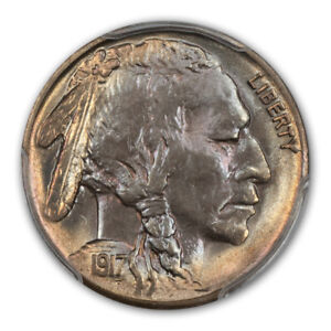 Click now to see the BUY IT NOW Price! 1917 S 5C BUFFALO NICKEL PCGS MS66