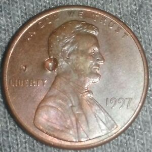 1997 LINCOLN MEMORIAL CENT STRIKE ERROR