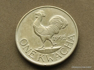 1992 MALAWI ONE KWACHA CIRCULATED AS IMAGED CABJ2