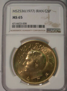 Click now to see the BUY IT NOW Price! MS2536  1977  IRAN GOLD 5 PAHLAHVI COIN NGC MS 65 HARD TO FIND HIGH GRADE