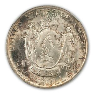 Click now to see the BUY IT NOW Price! MAINE 1920 SILVER COMMEMORATIVE 50C NGC MS67