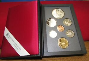 1990 CANADA COINAGE PROOF SET   ROYAL CANADIAN MINT