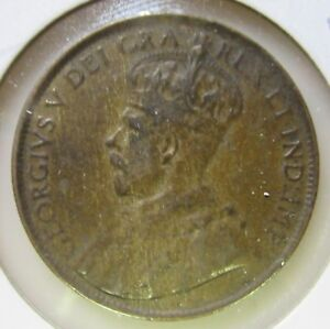 1912 CANADA LARGE CENT NICE DETAILS LOWER MINTAGE