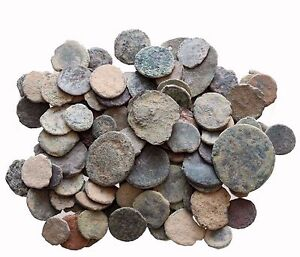 TRUE:  LOT OF 6 AE ANCIENT & ROMAN COINS AND ALWAYS BONUS COINS ADDED