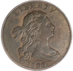 Click now to see the BUY IT NOW Price! 1799 S 189 LARGE CENT  PCGS VF25.