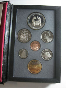 1988 CANADA DOUBLE DOLLAR PROOF SET IN BOX COA W/ IRON WORKERS DOLLAR
