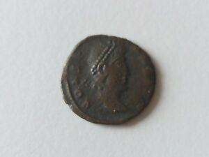 ANCIENT ROMAN ROME COIN  5 TO IDENTITY