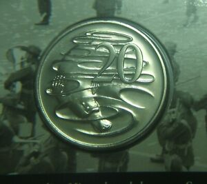 1995 20 CENT PLATYPUS COIN FROM A MINT SET UNC