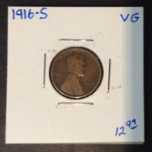 1916 S 1C LINCOLN CENT