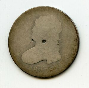 1825 BUST SILVER QUARTER CHEAP REDUCED