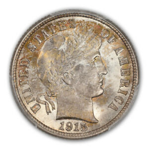 Click now to see the BUY IT NOW Price! 1915 10C BARBER DIME PCGS MS67