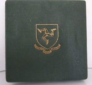 THE ISLE OF MAN 1965 THE FIRST GOLD COINAGE ONE OF 1000 PROOF SETS BOX DISPLAY