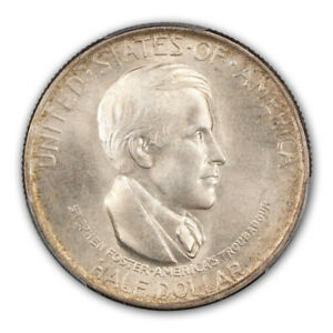 CINCINNATI 1936 D 50C SILVER COMMEMORATIVE PCGS MS66  CAC