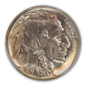 Click now to see the BUY IT NOW Price! 1913 5C TYPE 2 BUFFALO NICKEL PCGS PR68