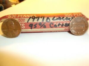 1977 D    LINCOLN ROLL  95   COPPER  CIRCULATED