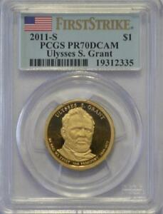 Click now to see the BUY IT NOW Price! 2011 S ULYSSES S GRANT PCGS PR70 FIRST STRIKE PRESIDENTIAL DOLLAR