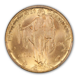 Click now to see the BUY IT NOW Price! SESQUICENTENNIAL 1926 $2.50 GOLD COMMEMORATIVE PCGS MS66   CAC