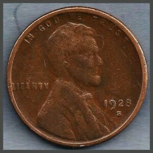 1928 S: BRN G LINCOLN WHEAT CENT