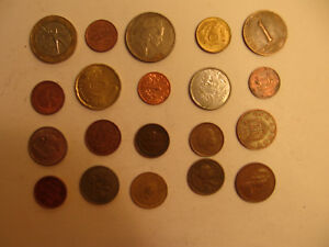 MIXED LOT OF FOREIGN COINS  7