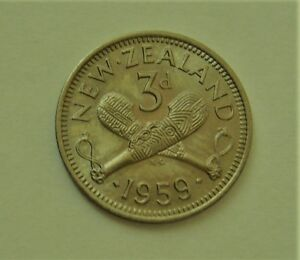 1957 TO 1963 NEW ZEALAND 3D COIN UNC YOUR CHOICE OF 1 FOR PRICE LISTED