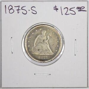 1875 S TWENTY CENT PIECE 20C NICE  TYPE COIN
