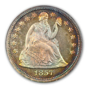 Click now to see the BUY IT NOW Price! 1857 10C LIBERTY SEATED DIME PCGS PR67