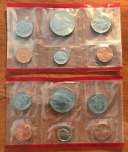 1985 D MINT SET COINS