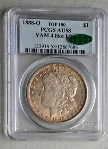 Click now to see the BUY IT NOW Price! 1888 O MORGAN DOLLAR VAM 4 HOT LIPS PCGS AU58  CAC  TOP 100