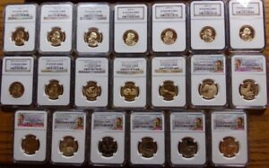 Click now to see the BUY IT NOW Price! 2000 2018 S SACAGAWEA DOLLAR  COMPLETE 20 COIN PROOF SET NGC PF70 UC REV   4
