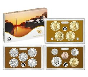 2015 S U.S. MINT CLAD PROOF SET  14  COINS WITH NATIVE AMERICAN & QUARTERS
