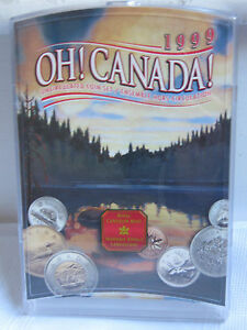 1999 OH  CANADA  CANADIAN UNCIRCULATED COIN SET