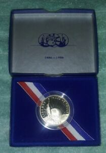 1986 UNITED STATES STATUE OF LIBERTY PROOF HALF DOLLAR COIN