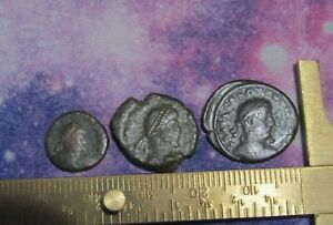 ANCIENT ROMAN COIN / 3X ANCIENT AUTHENTIC  COIN
