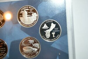 2009 S   GUAM   PROOF TERRITORIAL QUARTER   COMBINED SHIPPING