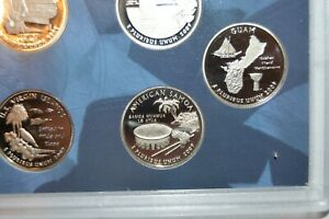 2009 S   AMERICAN SAMOA   PROOF TERRITORIAL QUARTER   COMBINED SHIPPING