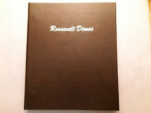 Click now to see the BUY IT NOW Price! UNCIRCULATED ROOSEVELT DIMES IN DANSCO ALBUM   1946 2019 P D AND 1946 1955 S