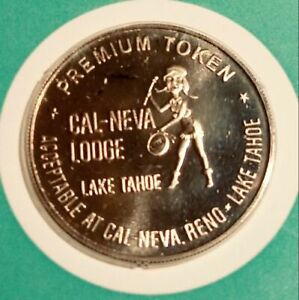 Click now to see the BUY IT NOW Price! CLUB CAL NEVA GAMING TOKEN BRONZE PROOF CA. 1969