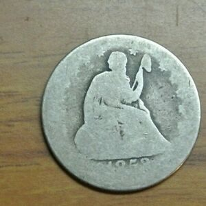 1853 O 25C ARROWS & RAYS SEATED LIBERTY QUARTER SILVER US COIN