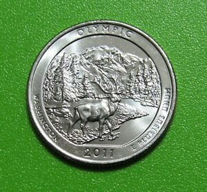 2011 P OLYMPIC WASHINGTON NATIONAL PARKS AMERICA THE BEAUTIFUL QUARTER