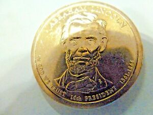 2010 D ABRAHAM LINCOLN 16TH PRESIDENTIAL U.S. ONE DOLLAR COIN